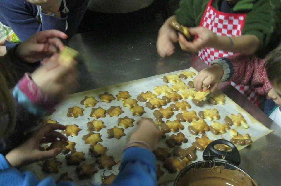 fare i biscotti