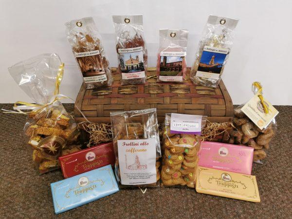 biscotti, caramelle e dolci