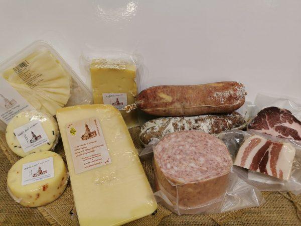 formaggi e salumi