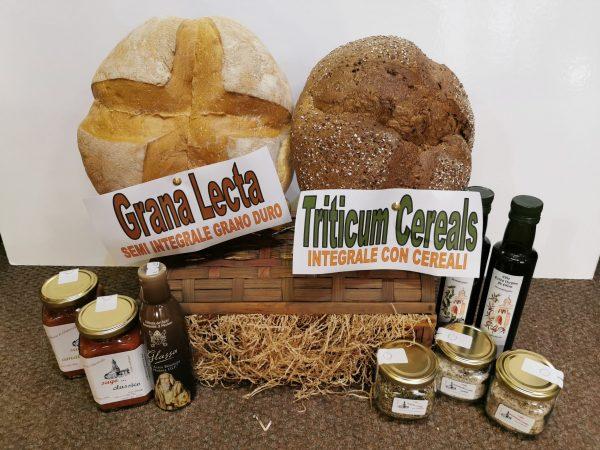 pane, olio, sighi, condimenti